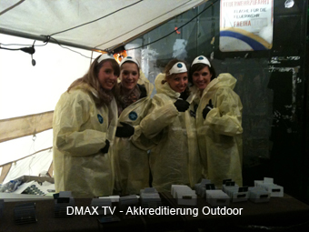 DMAX TV - Akkreditierung Outdoor