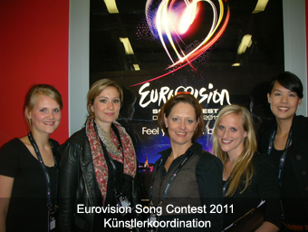 Eurovision Song Contest 2011 – Künstlerkoordination