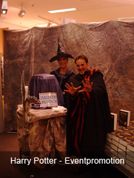 Harry Potter - Eventpromotion